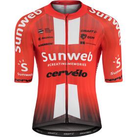Craft Team Sunweb Aerolight Maillot manches courtes Homme, sunweb red